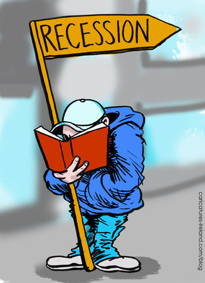 recession cartoon