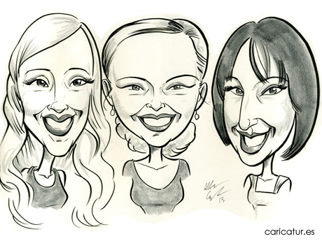 Caricatures Ireland original birthday gift ideas from Allan Cavanagh