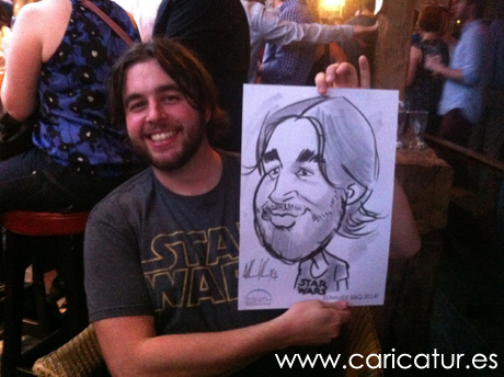 Staff party entertainment from Allan Cavanagh, Caricatures Ireland!