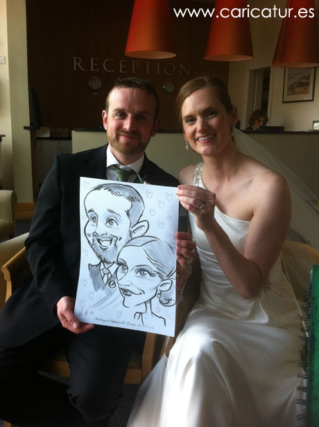 Caricatures by Allan Cavanagh, caricaturist all over Ireland!