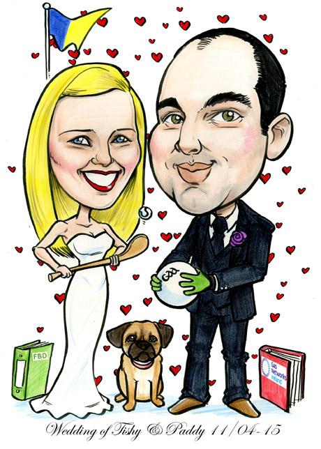 Wedding Caricatures Ireland