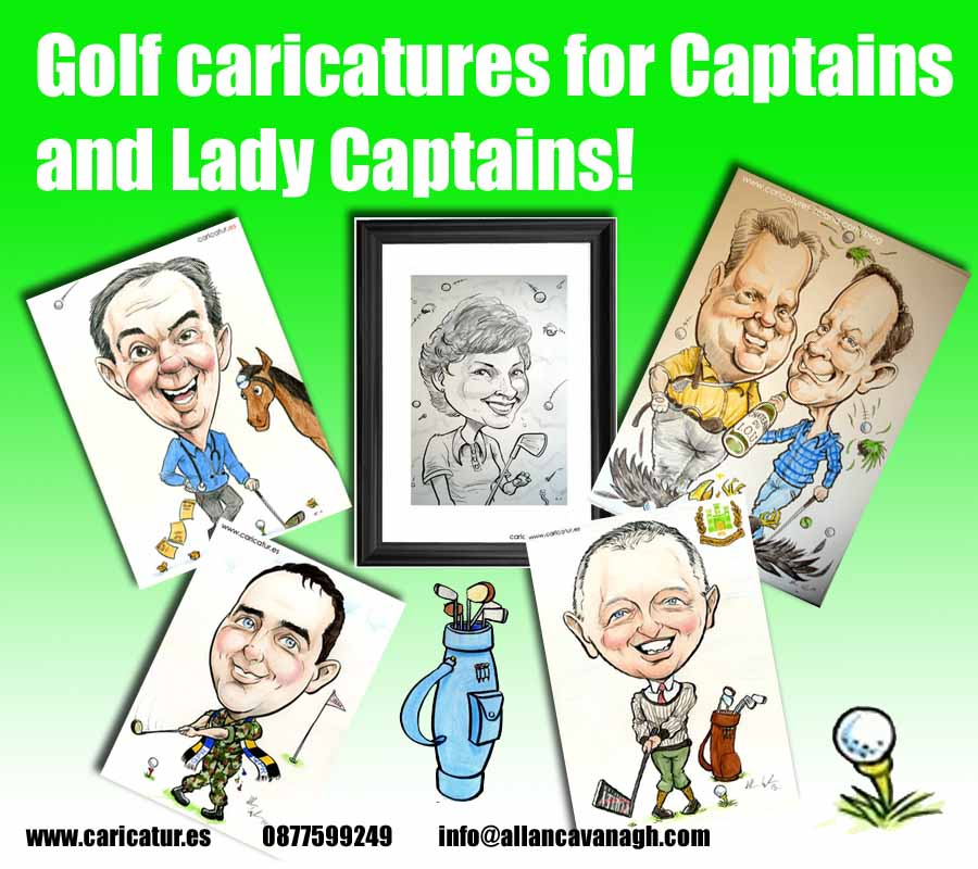 golf club captain gifts