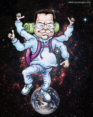 galactic hitchhiker cartoon