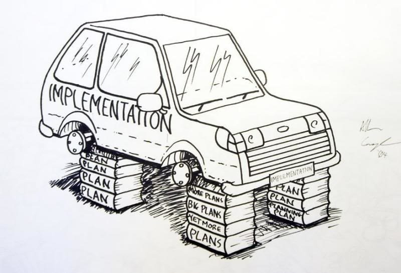 implementation cartoon