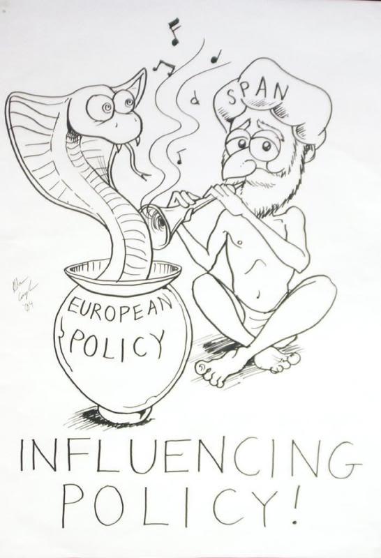 influencing policy cartoon