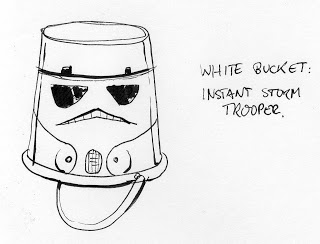 Cheap Star Wars Stormtrooper costume idea cartoon