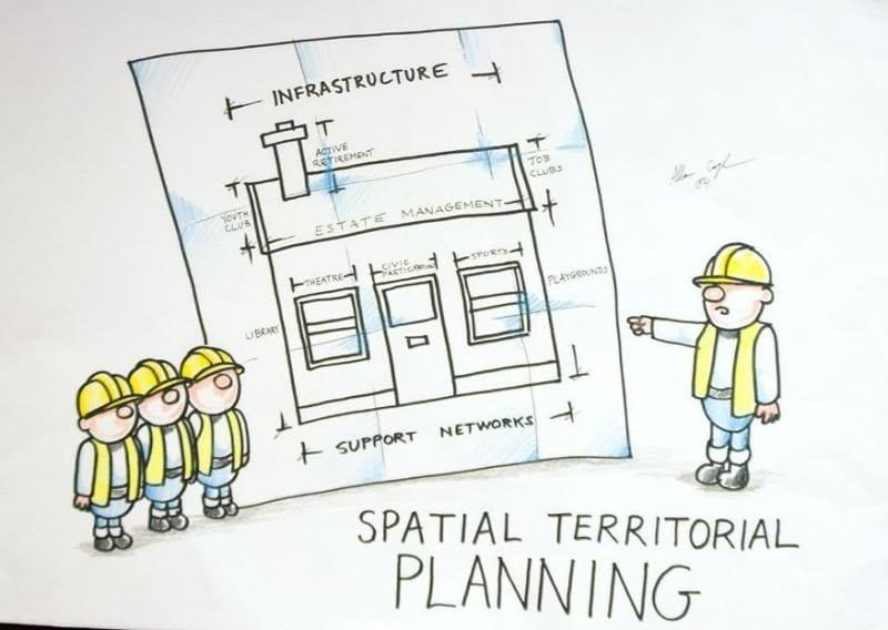 spatial territorial planning cartoon