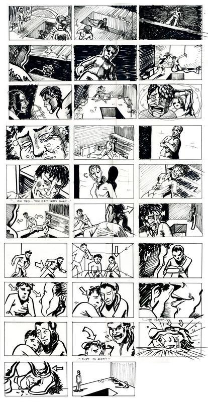 Storyboard for short film