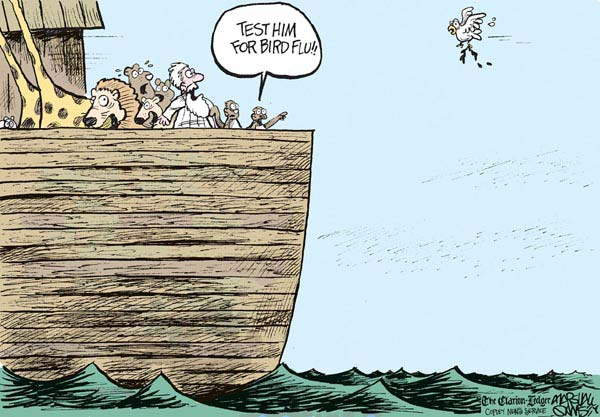 Noah's Ark Cartoon by Marshall Ramsey