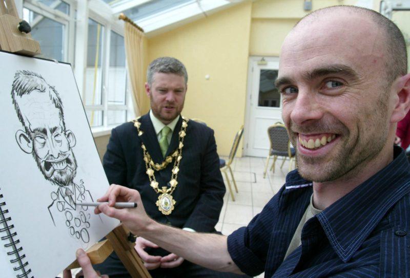 Allan Cavanagh Caricature Artist