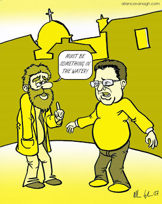 Yellow Galway Cartoon