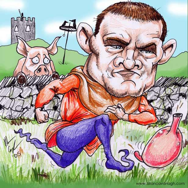Wayne Rooney Cartoon Caricature
