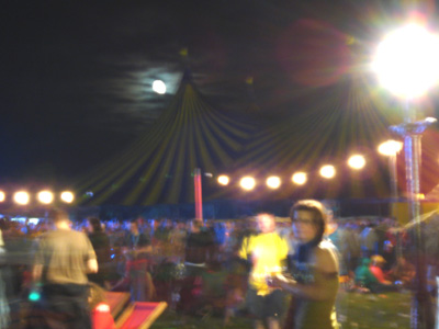 Electric Picnic at night