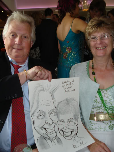 Wedding caricatures Ireland