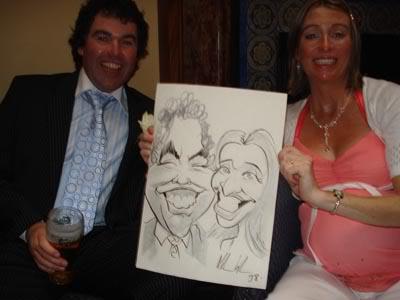Sligo Wedding Caricature Artist