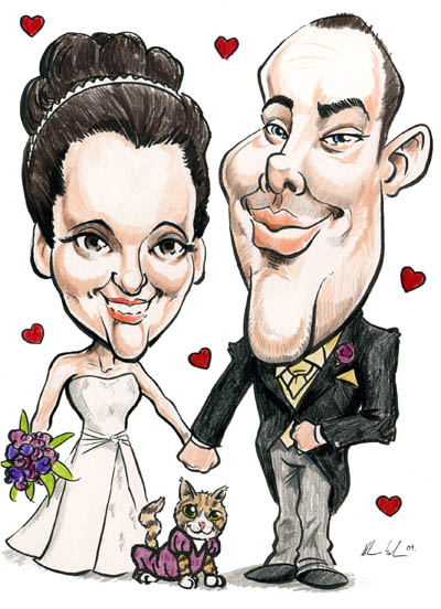 wedding-caricature-meath