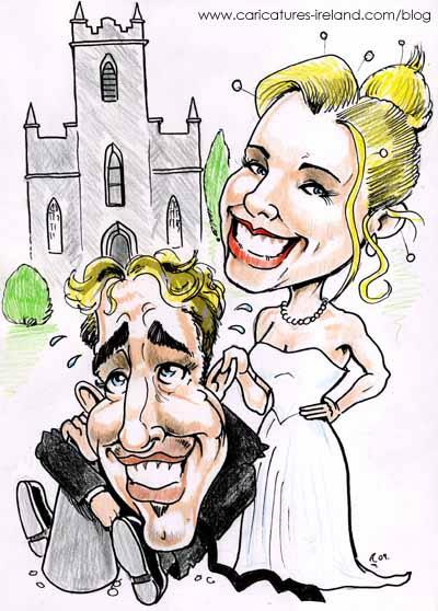 wedding-invitation-caricature