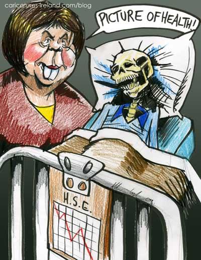 Mary Harney Cartoon