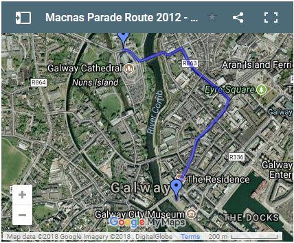 macnas parade route 2012