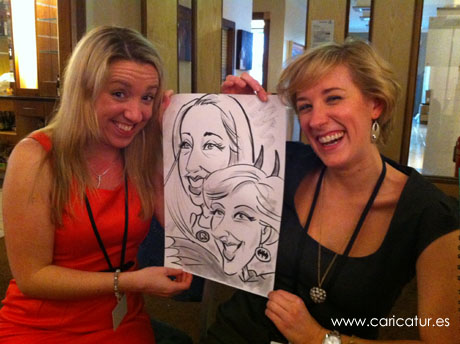 Allan Cavanagh provides caricature entertainment for events all over Ireland!