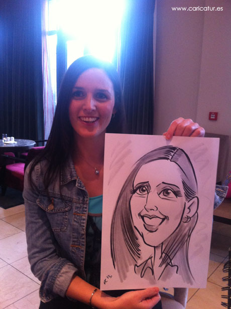 Corporate entertainment from one of Ireland's best live caricature artists, Allan Cavanagh