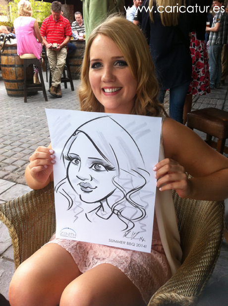 Live Caricatures Ireland entertainment Allan Cavanagh corporate