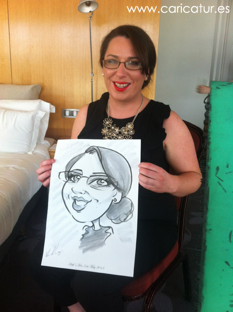 Hen party caricatures Ireland!