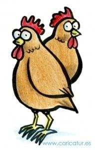 Chickens Cartoon