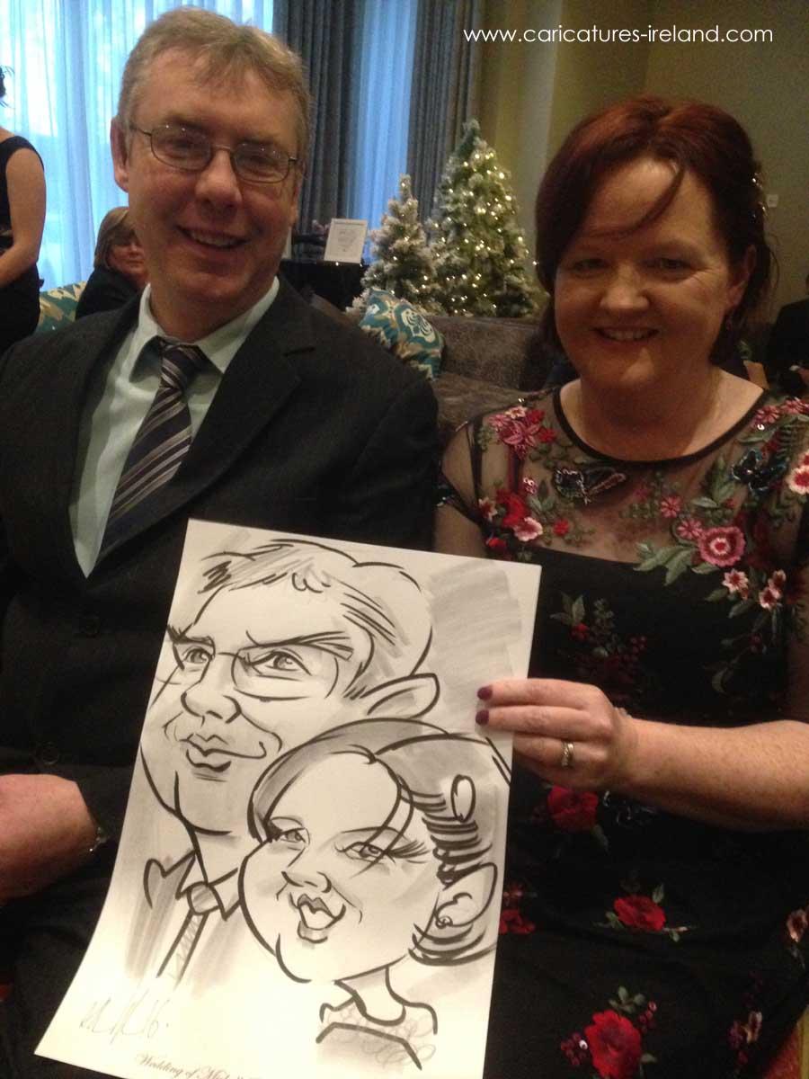 Caricatures by Allan Cavanagh