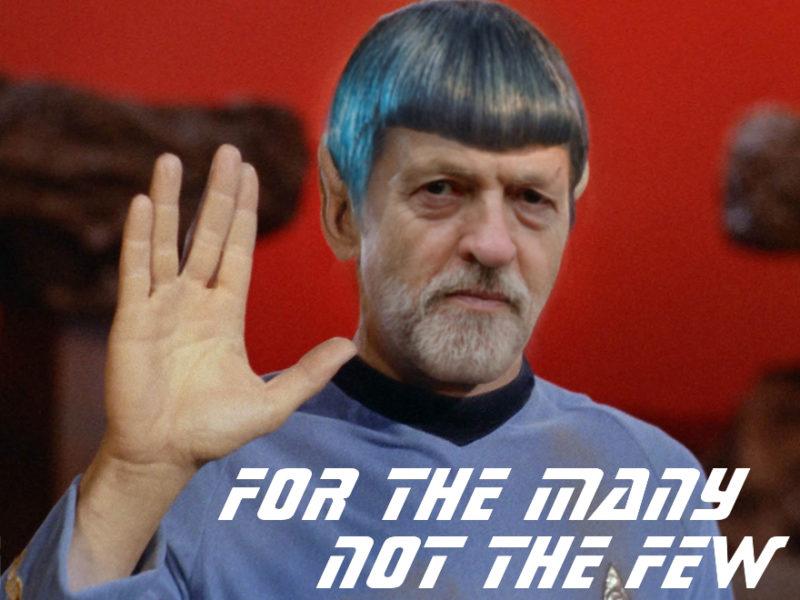 Jeremy Corbyn Spock