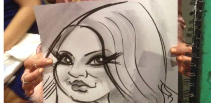 Caricature artist Ireland