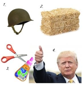 How to make Donald Trump hair