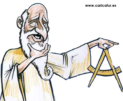 Archimedes Cartoon