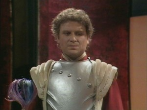 Colin Baker first roll in Doctor Who