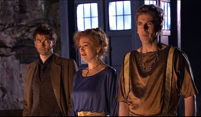 Fires of Pompeii Doctor Who