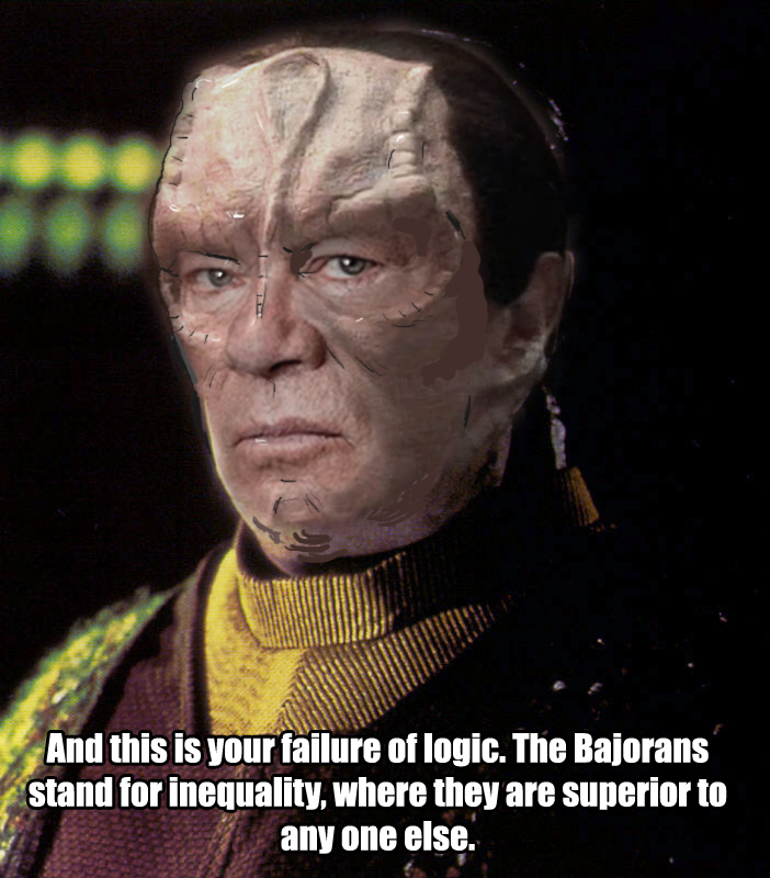 William Shatner Cardassian