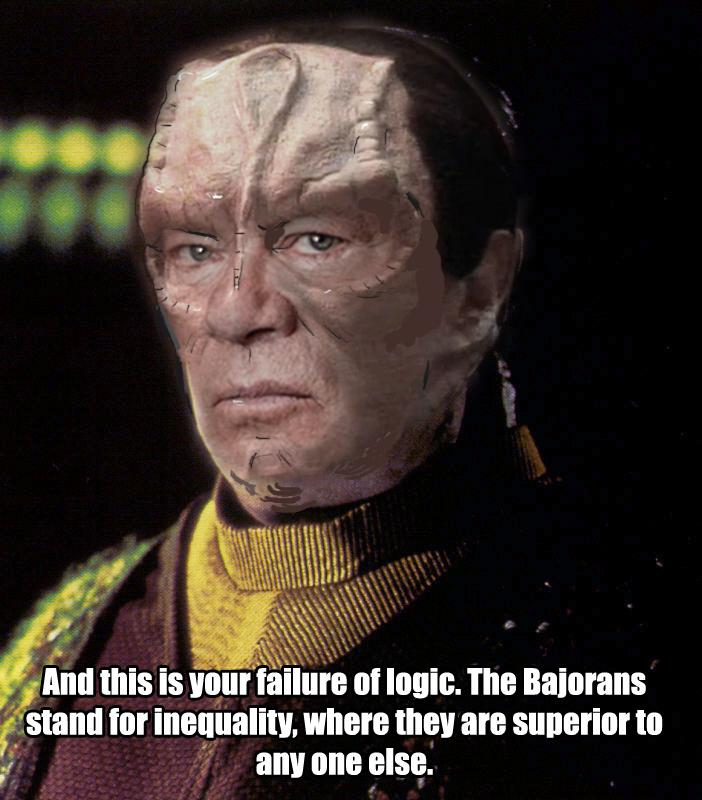 William Shatner Cardassian