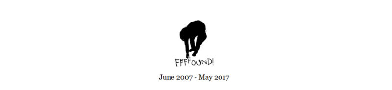 ffffound closes down graphic