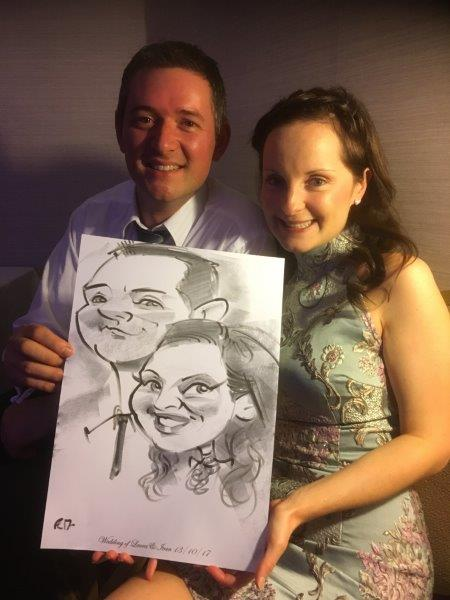 Caricatures for weddings