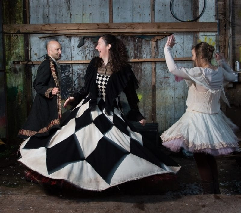 Jonathan Gunning, Helen Gregg, Debbie Wright, Turas Theatre Collective