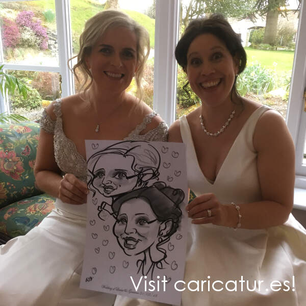 Wicklow Wedding Entertainment caricatures