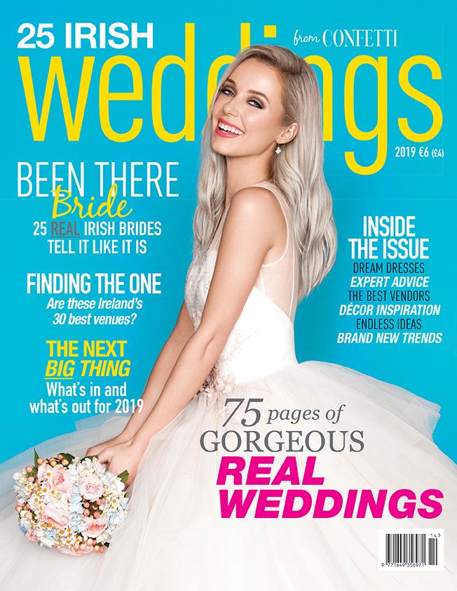 25 Irish Weddings 2019 Magazine Cover