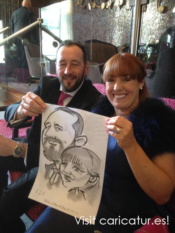 Dublin Caricature Artist