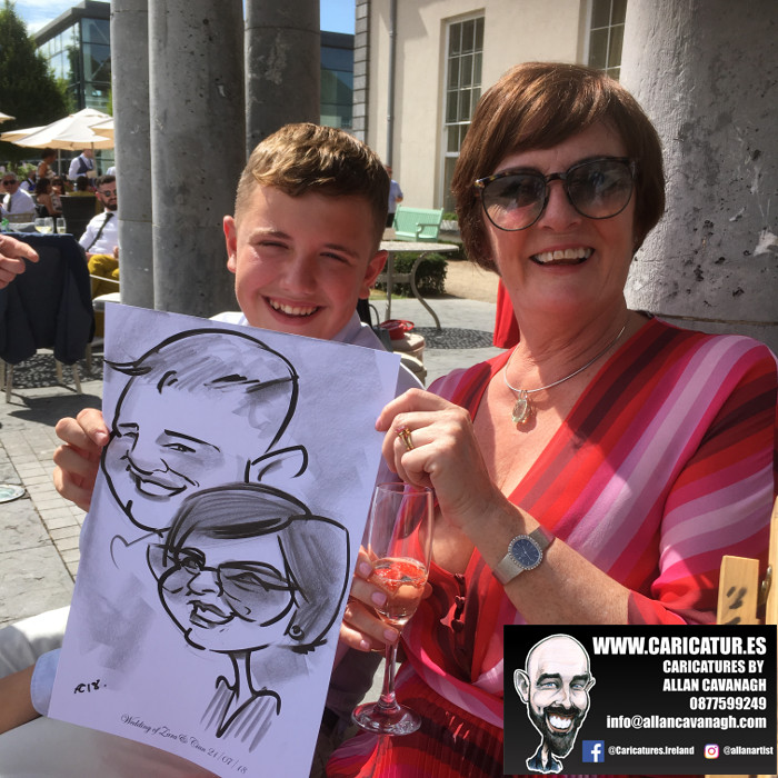 cork caricature artist