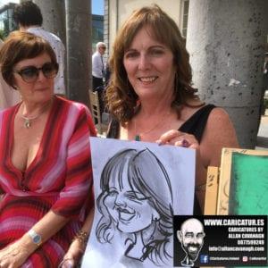 cork caricature artist