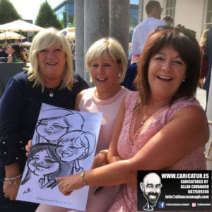3 sisters caricature