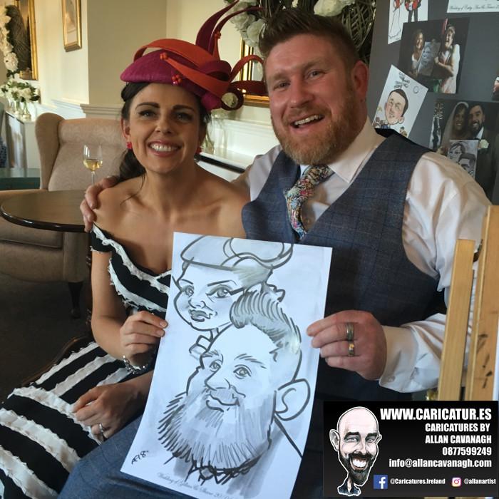 Caricature artist Cork Allan Cavanagh