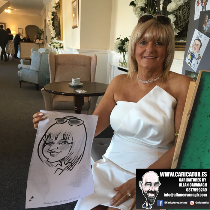 Caricatures by Allan Cavanagh