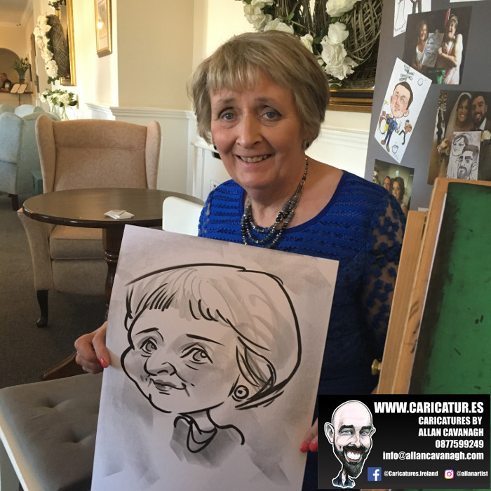 funny caricatures cork
