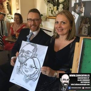 Cork Wedding Caricatures